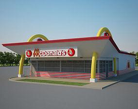 3D McDonalds Restaurant 04