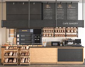 Cafe Bakery 3D model