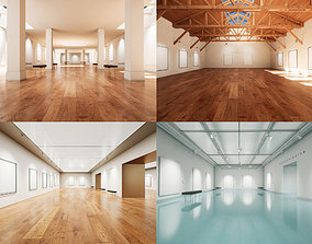 3D model Art Gallery Collection 003