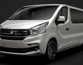 3D model Fiat Talento Minibus SpaceClass LWB 2019