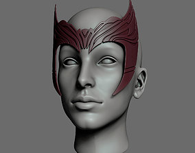 Wandavision Scarlet Witch Inspired Crown 3D print
