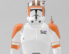 Star Wars Clone Wars Commander 3D printable model 2