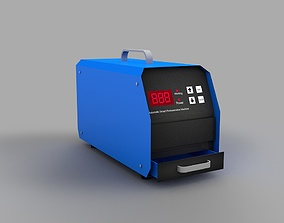 Automatic Photosensitive Flash Stamp Machine 3D asset