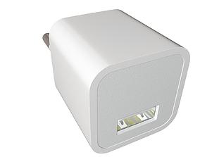 Apple 5W USB Power Adapter 3D model