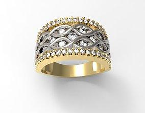3D Print Ring Model 08