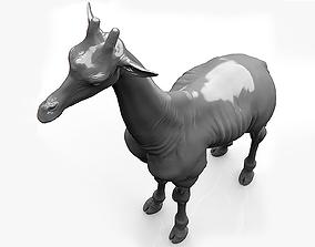3D Giraffe Sculpt