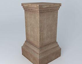 3D model COLUMN Candide