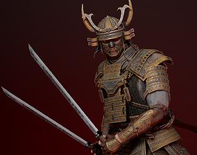 Samurai Boss 3D model