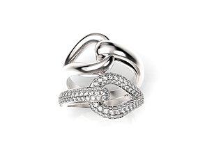 3D print model Hip-Hop ring-jewelry