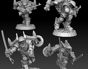 3D printable model Astroknight Rocketmen