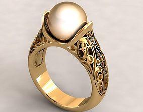 pearl ring 3D model