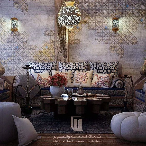 Moroccan livingroom