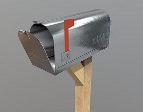 3D model VR / AR ready Mailbox