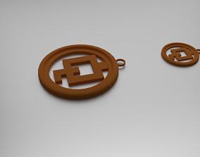 Sesqui Quadrates Pendant 3D printable model