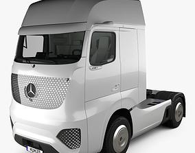 Mercedes-Benz Future Truck with HQ interior 2025 3D model