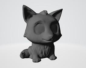 3D printable model beast Little wolf