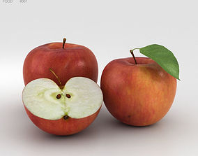 apple fruit Apple 3D