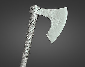 Viking axe - DeathBringer 3D printable model