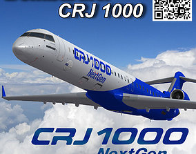 Bombardier CRJ 1000 NextGen Home livery 3D model