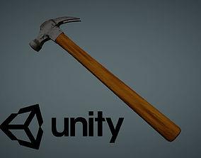 Hammer Low Poly 1 3D asset