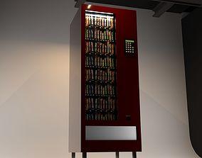 CHOCOLATE SNACK VENDING MACHINE 3D model