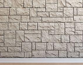 Artificial stone Stone 008 3D asset