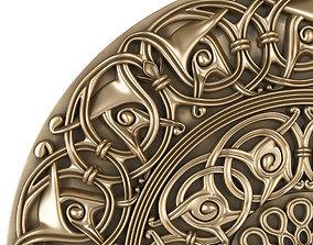 3D decoration decorative rosette for cnc