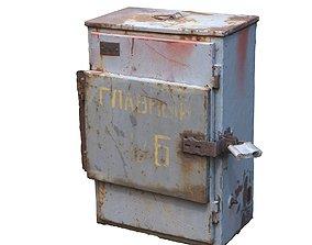 Electrical grey box scan 42 3D asset