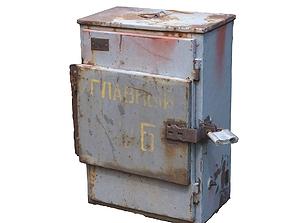 3D asset Electrical grey box scan 42