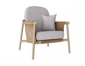 chair 3d model fabric
