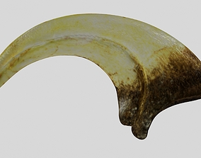 Velociraptor cycle claw 3D model