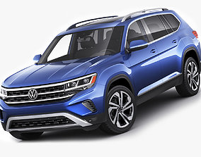 Volkswagen Atlas 2021 3D model