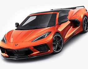 Corvette Convertible C8 3D