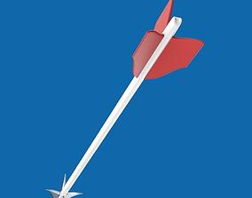 3D model Archery arrow