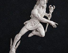 sculptures 3D print model Pegasus