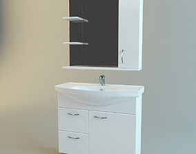 3D model Bathroom vanity set 3