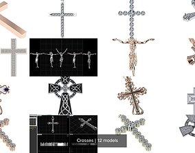 3D model Crosses