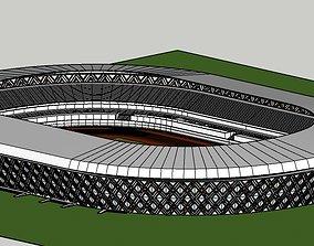 3D print model daovon stadium