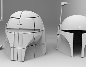 Star Wars Boba Fett Helmet 3D printable model