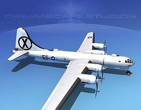 3D model Boeing B-29 Superfortress V07