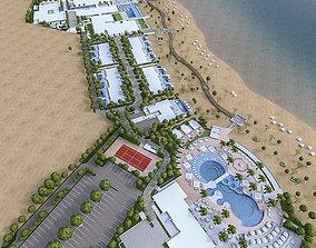 Beach Residence Resort 3D model