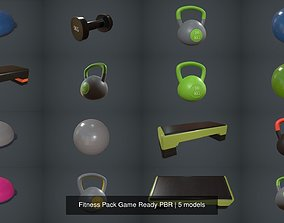 Fitness Pack Game Ready PBR 3D yoga