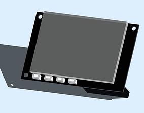 3D printable model Raspberry Pi Touch Screen Shield
