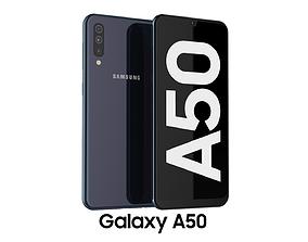 3D model Samsung Galaxy A50 Black
