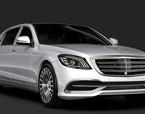 Mercedes Maybach S 650 X222 2018 3D model