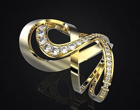 3D printable model RING HERA DOUBLE