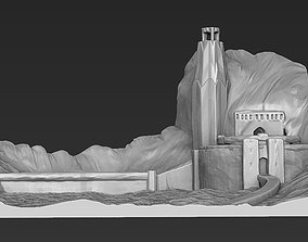 prototyping Helms Deep the Lord of the Rings 3D printable