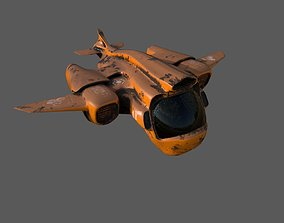 Old Working Spaceship other 3D