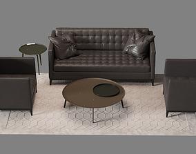 Armchair and Sofa IDP Zelda 3D