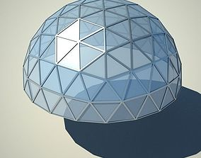 Metallic structure truss 06 Dome 3D